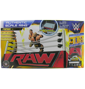 WWE Authentic Scale Action Figure Ring RAW Edition