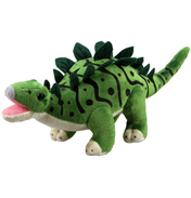 XJ Dinosaur Plush Stegosaurus in Green LARGE…
