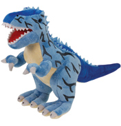 XJ Dinosaur Plush Tyrannosaurus in Blue MEDIUM…