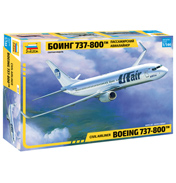 Civil Airliner Boeing 737-800 (Scale 1:144)